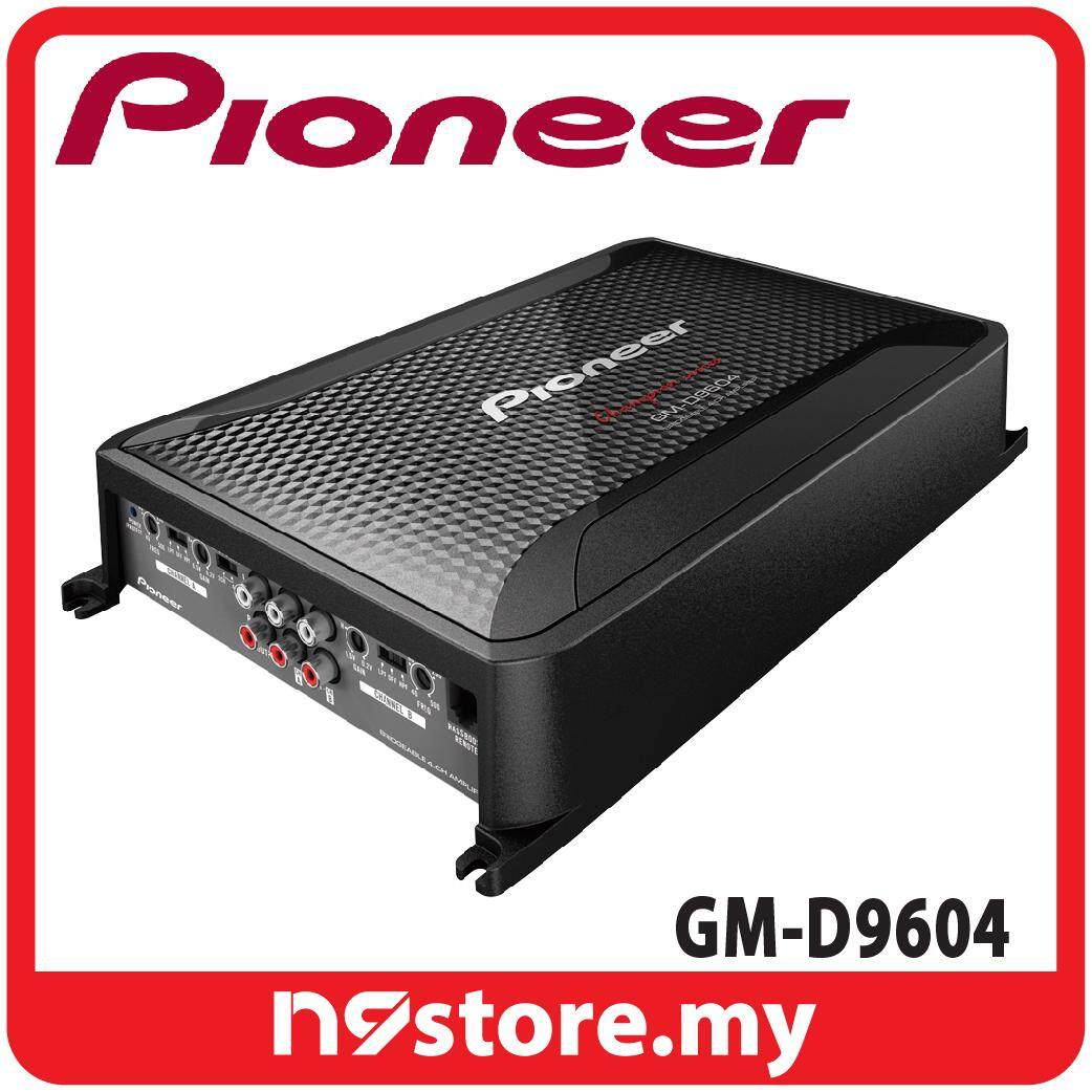 Pioneer GM-D9604 Class FD 4 Channel Amplifier