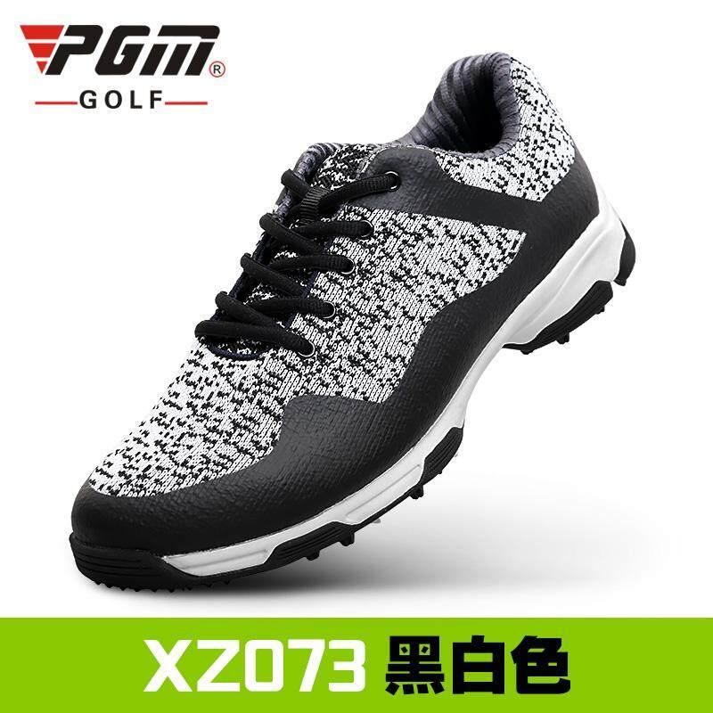 PGM Sepatu Golf Pria Anti Udara Tembus Angin (Hitam atau Putih) (Hitam atau 0e97730967