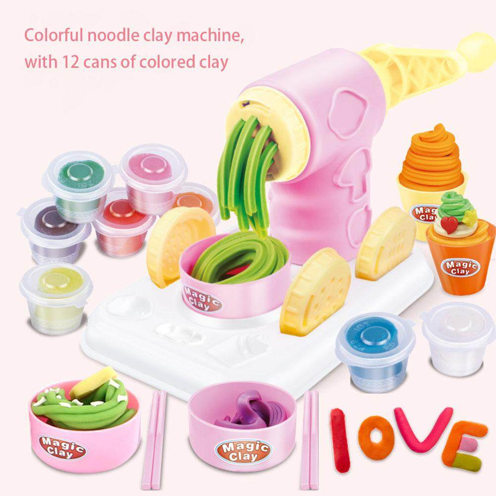 f3b916b97 Redcolourful DIY Modeling Clay Toy Educational Learning Hobbies Toy  Plasticine Machine Mold Play House Game