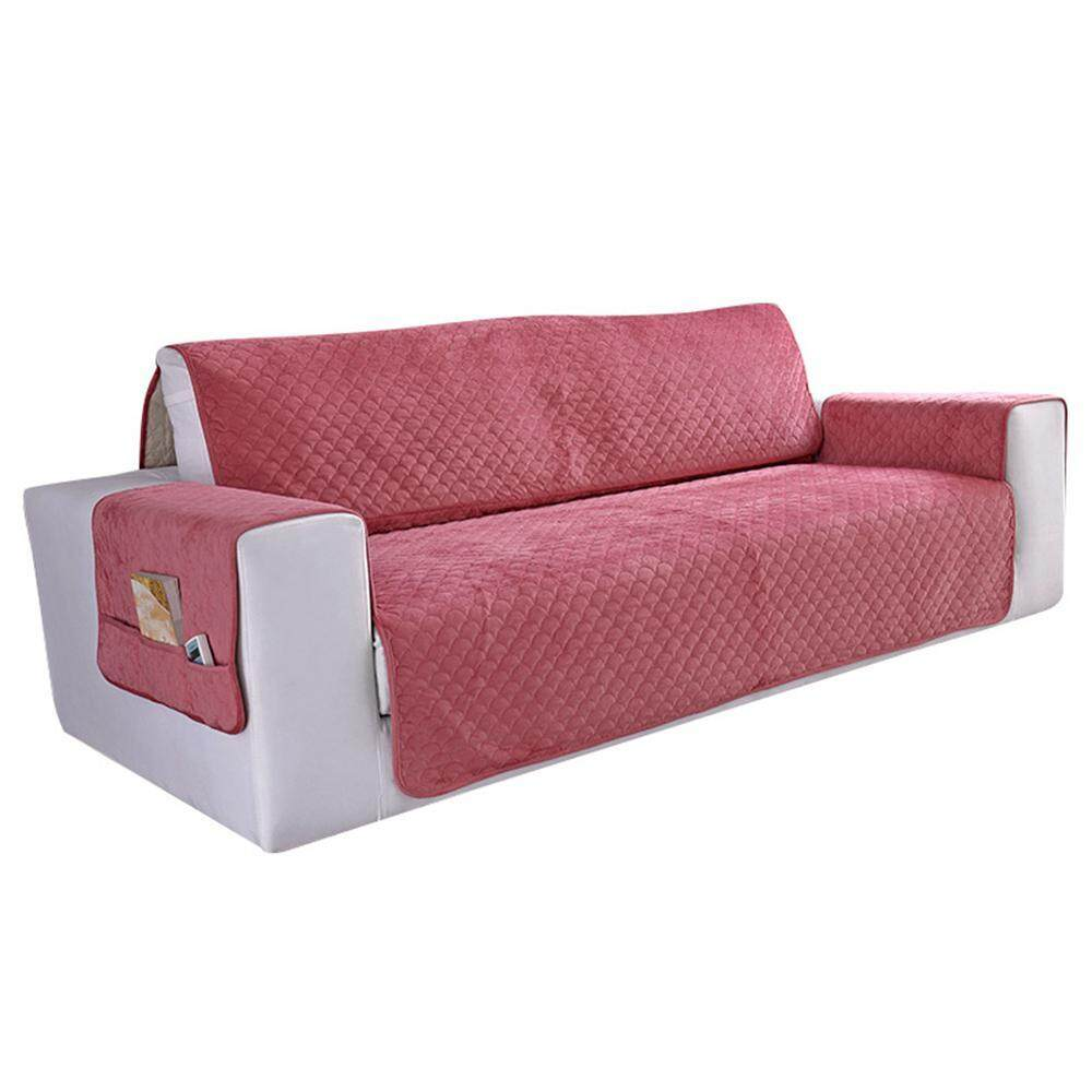 Auoker Original Slip Resistant Sofa Slipcover Protector, Slip Reducing Backing, Couch Furniture Cover For Kids, Dogs, Cats, Pets(167*190cm)