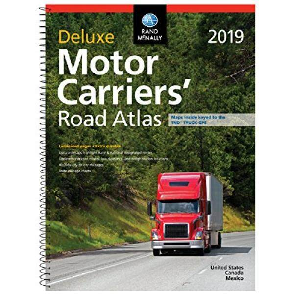 Rand McNally 2019 Deluxe Motor Carriers Road Atlas (Rand McNally Motor Carriers Road Atlas)
