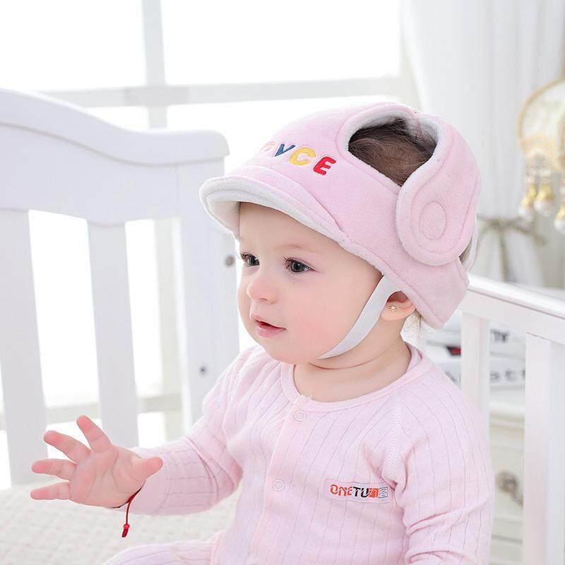 Adjustable Bayi Tutup Pengaman Anti-Tabrakan Pelindung Topi Belajar Pada Kaki Helm Anak Laki-