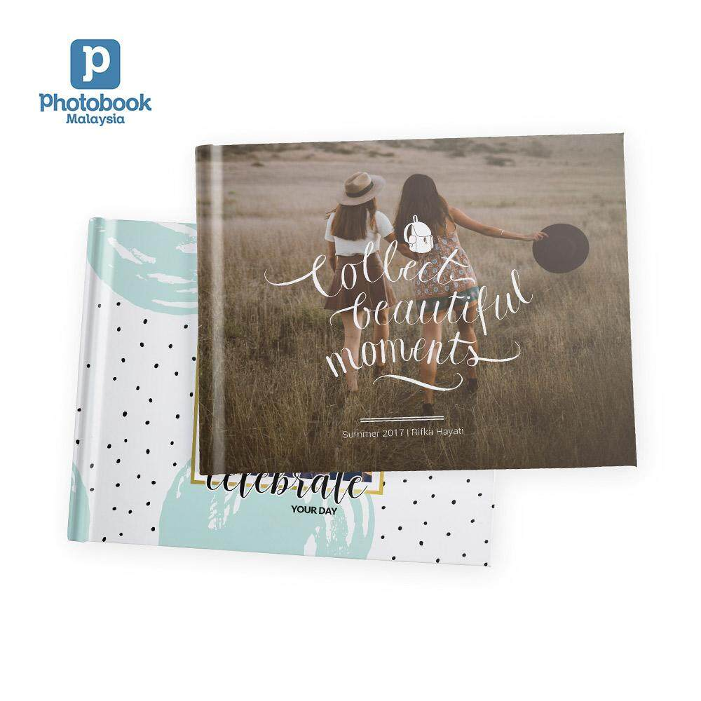 "Photobook Malaysia 11"" x 8.5"" Medium Landscape Imagewrap Hardcover Photo Book, 40 Pages"