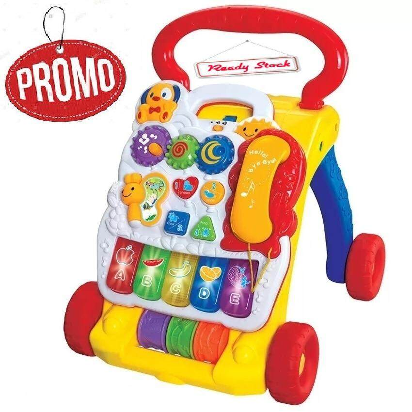 2 in 1 Music Baby Activity Walker Music Learning Toy Educational Toys