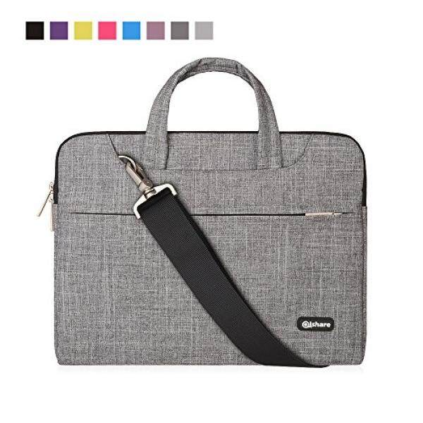 Qishare Laptop Case, Shoulder Bag, Multi-functional 11.6 12 Inch Notebook Sleeve, Carrying Case With Strap for Chromebook Macbook HP Stream Samsung Acer Asus Dell Lenovo - intl