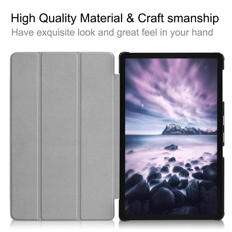 DWaybox Ready Stock Folding Flip Leather Case For Samsung Galaxy Tab A 10.5 .