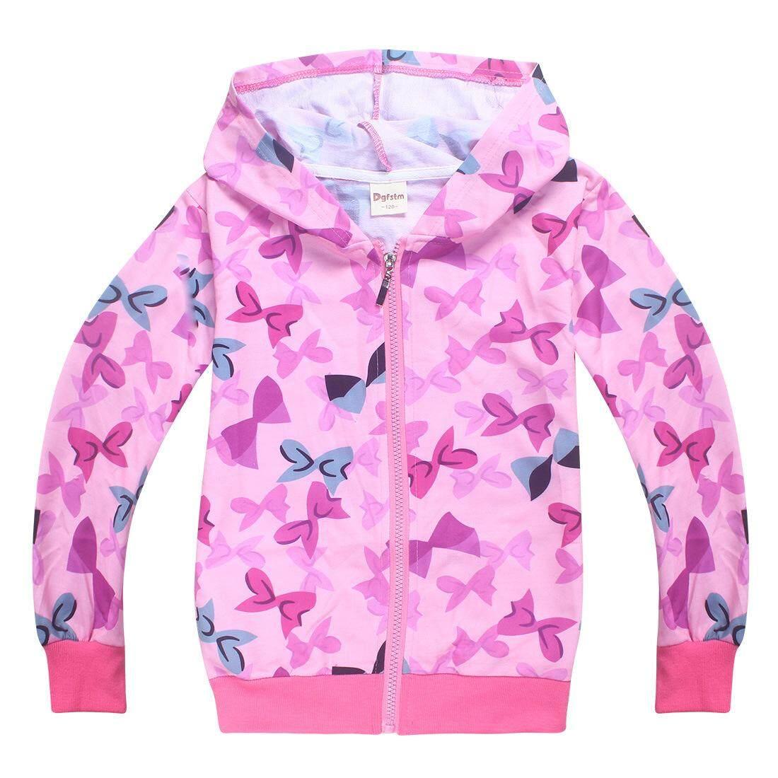 Aijia Perempuan Cardigan Pakaian Luar Jaket Wanita Pakaian Anak-anak Sweater Anak-anak Jaket untuk Usia 4-12 Tahun