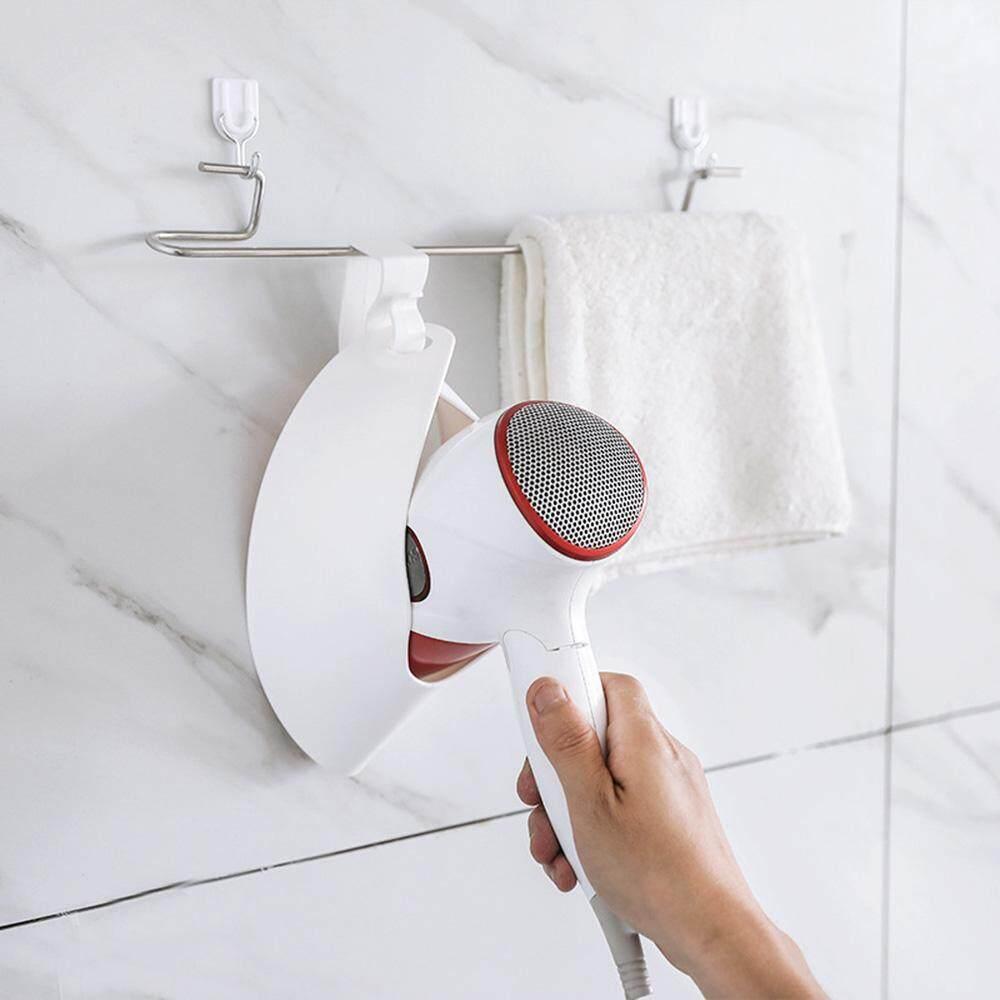 Jayoyi Portable Door Hook Hair Dryer Organizer Plastic Hair Dryer Rack For Home Hotel - intl