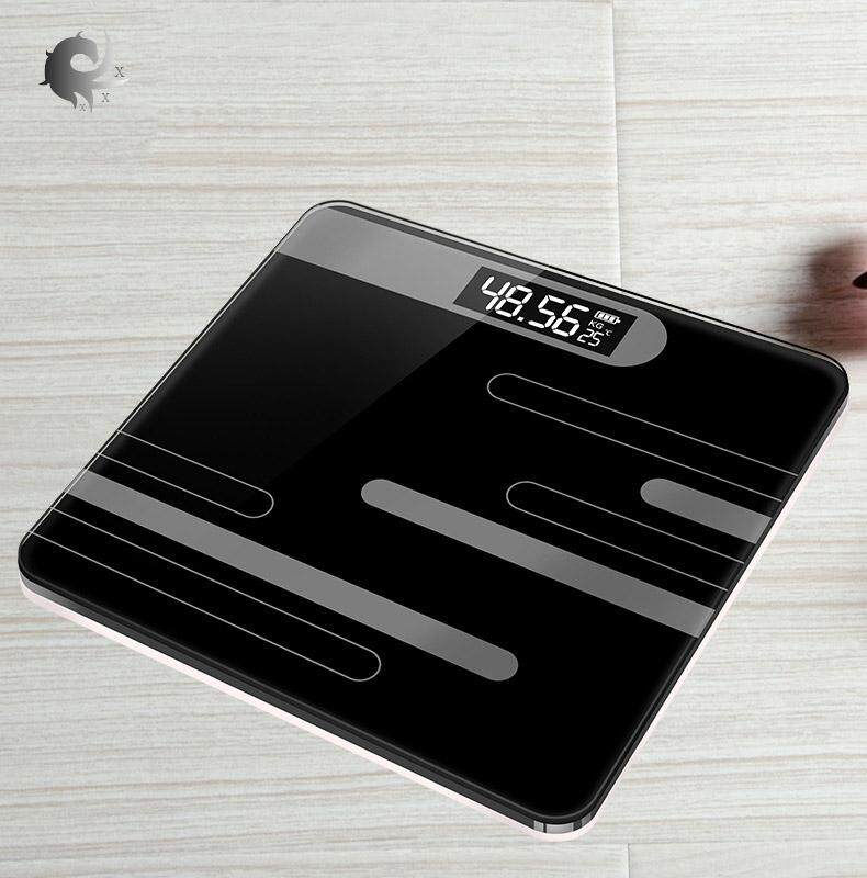 Electronic Scales, Human Body Electronic Scales, Household Weight Scales, Precision, Adult, Health, Weighing, Electronic Scales, High Quality Tempered Glass. By Shanghaied.