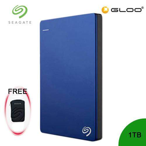 Seagate Backup Plus Portable Drive 1TB - Blue STDR1000302 FREE Hard Pouch Casing [Purchase on 3rd-16th Sept 2019  and Get complimentary RM10 Aeon voucher + RM 20 Starbucks Card *while stocks las