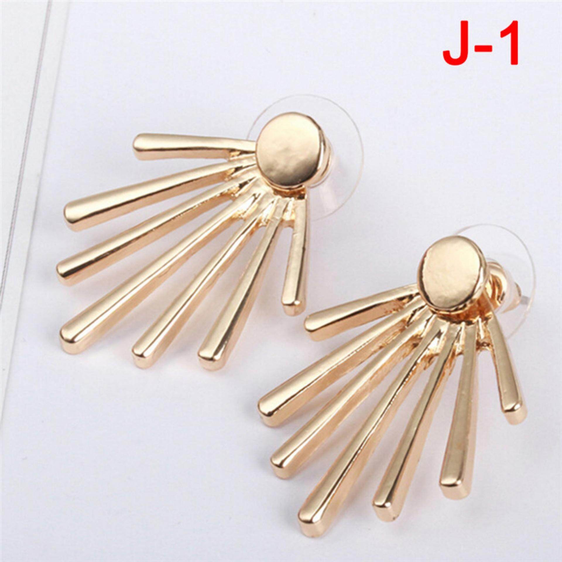 Women Lady Elegant Crystal Rhinestone Ear Stud Earrings Charms Style:21 - intl