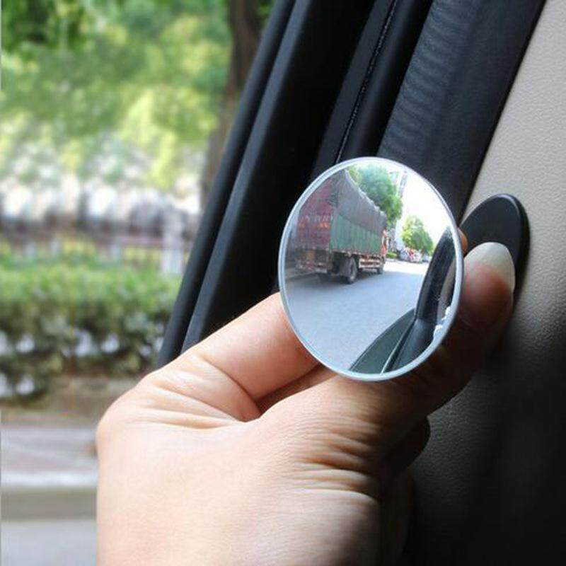 Coromose Spion Mobil Hd 360 Derajat Sudut Lebar Dapat Disesuaikan, Cermin Cembung Mobil Untuk Titik Buta, Kaca Spion Tanpa Bingkai Untuk Kendaraan By Coromose.