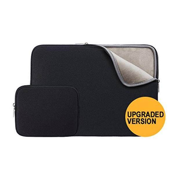 RAINYEAR 14 Inch Laptop Sleeve Case Soft Fluffy Lining Padded Carrying Bag with Charger Pouch,14 Notebook Ultrabook Chromebook,Dell HP ThinkPad Lenovo Asus Toshiba Acer - intl