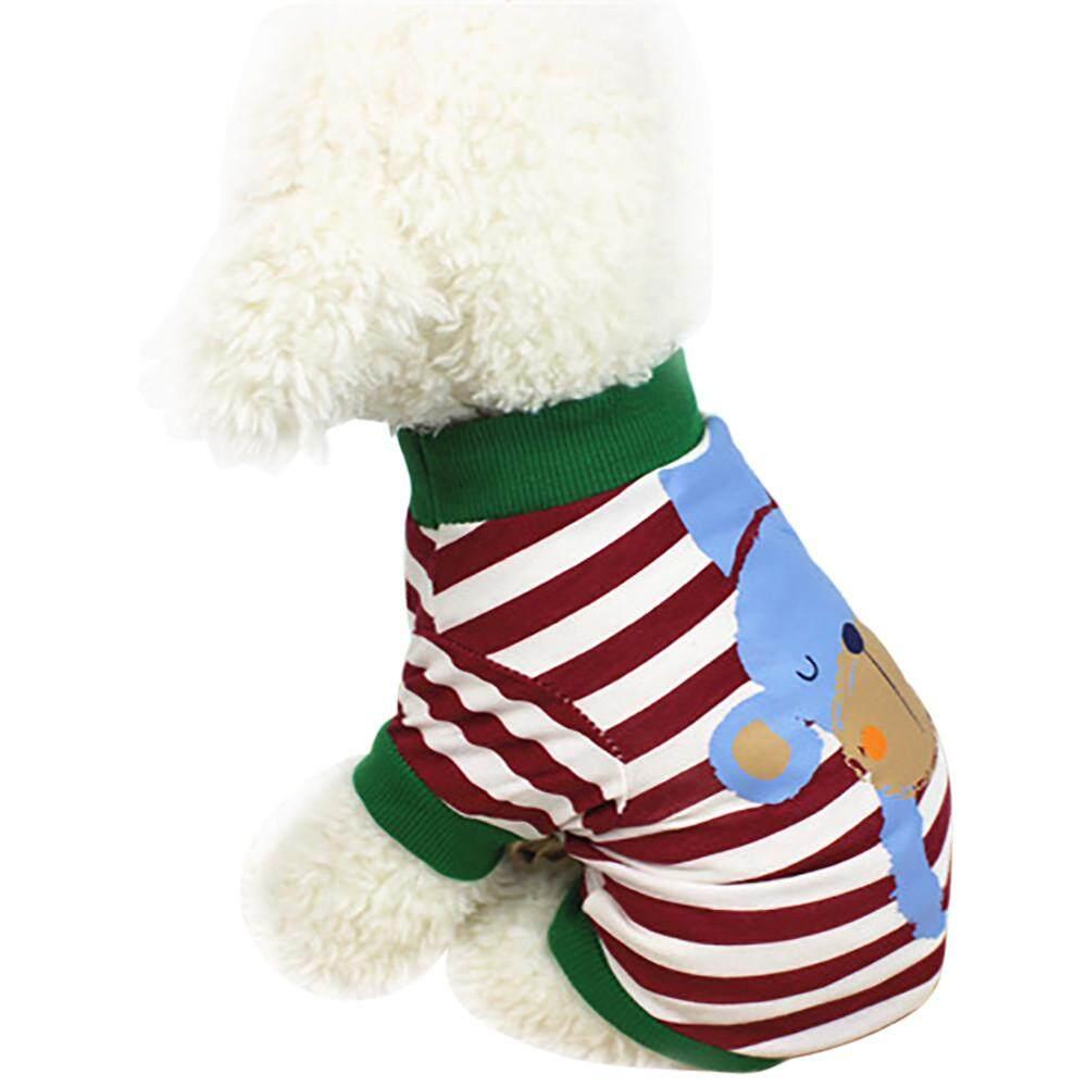 สัตว์น่ารักลายเสื้อผ้าสุนัขฤดูร้อนเสื้อยืดเสื้อผ้าลูกสุนัข By Mokieshop.