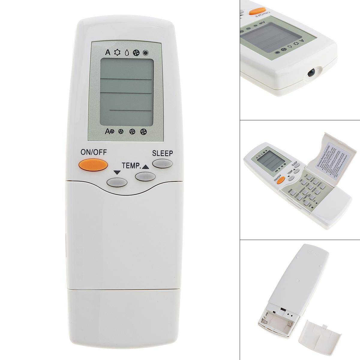 Air Conditioner Remote Control English Version with HD Screen Support 2 AAA for RFL-0601 / RFL-0301E Carrier Air Conditioner