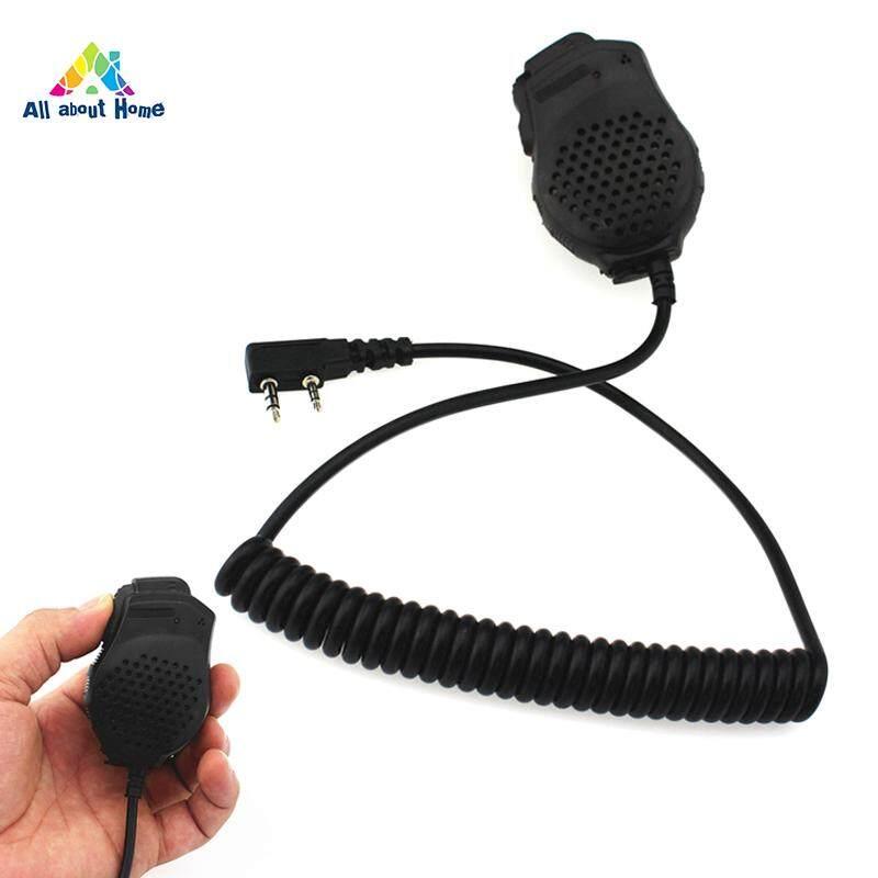ABH Micro Cầm Tay Loa Mic cho Bộ Đàm Baofeng 5R 5RA/B/C/D/E/888 S /777 S Đài Phát Thanh