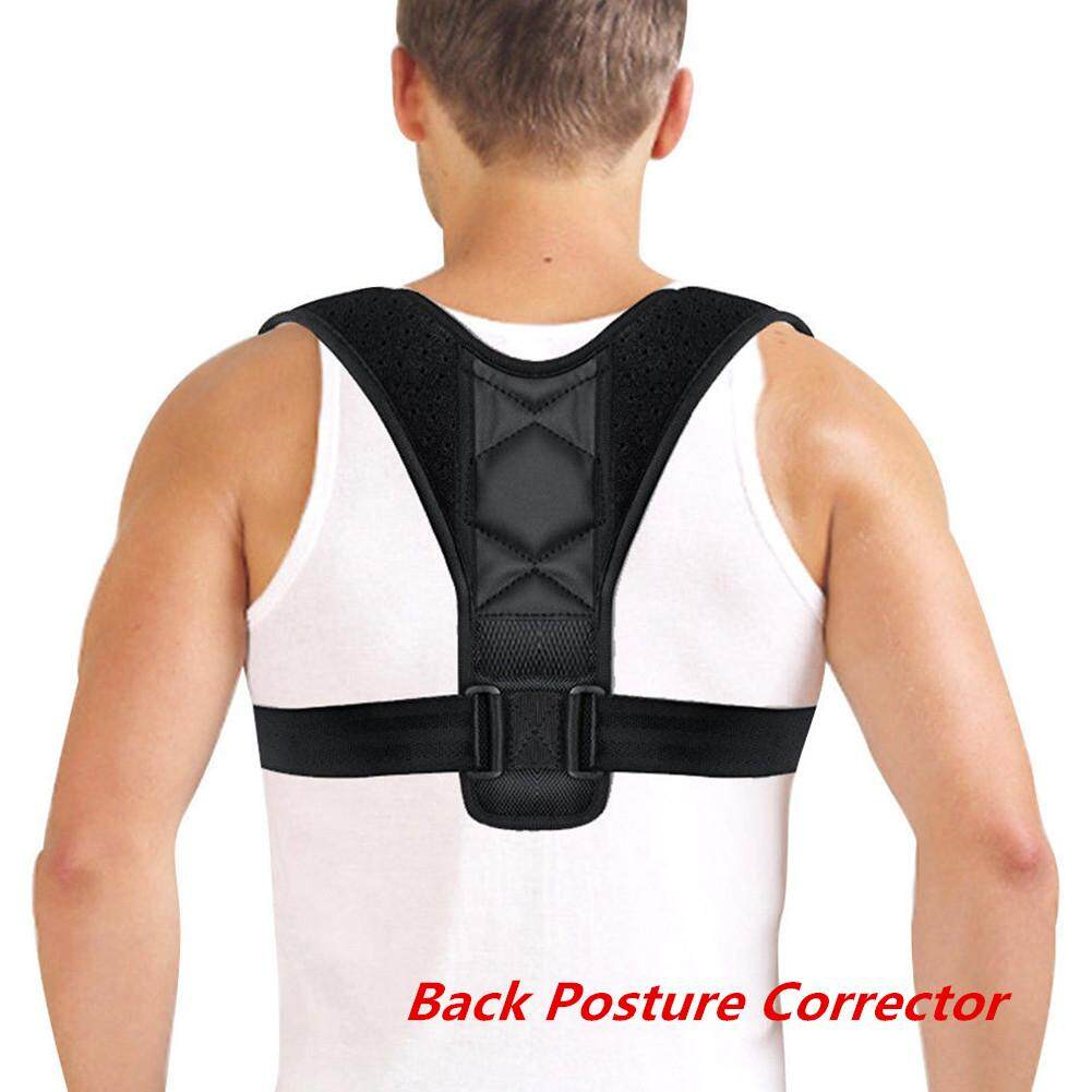 YANYI Adjustable Back Posture Corrector Clavicle Spine Back Shoulder Lumbar Brace Support Belt Posture Correction
