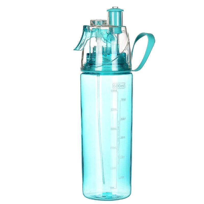 Huizhoushi Cross Border Gift Creative Sports Outdoor Space Cup Spray Cup Plastic Carry Tea
