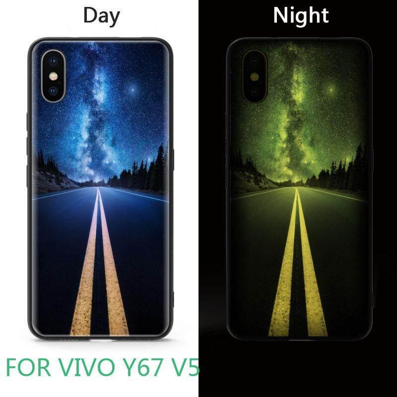 Bercahaya Sarung Telepon Genggam untuk VIVO Y67 V5 Cakupan Penuh Telepon Seluler Kasus Lampu Malam Fashion
