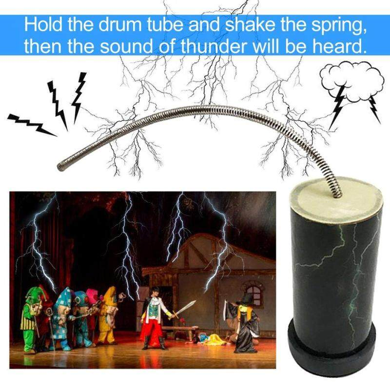 BELLE Orffworld Children Musical Toy Imitation Thunder Sound Tool Performance Prop black