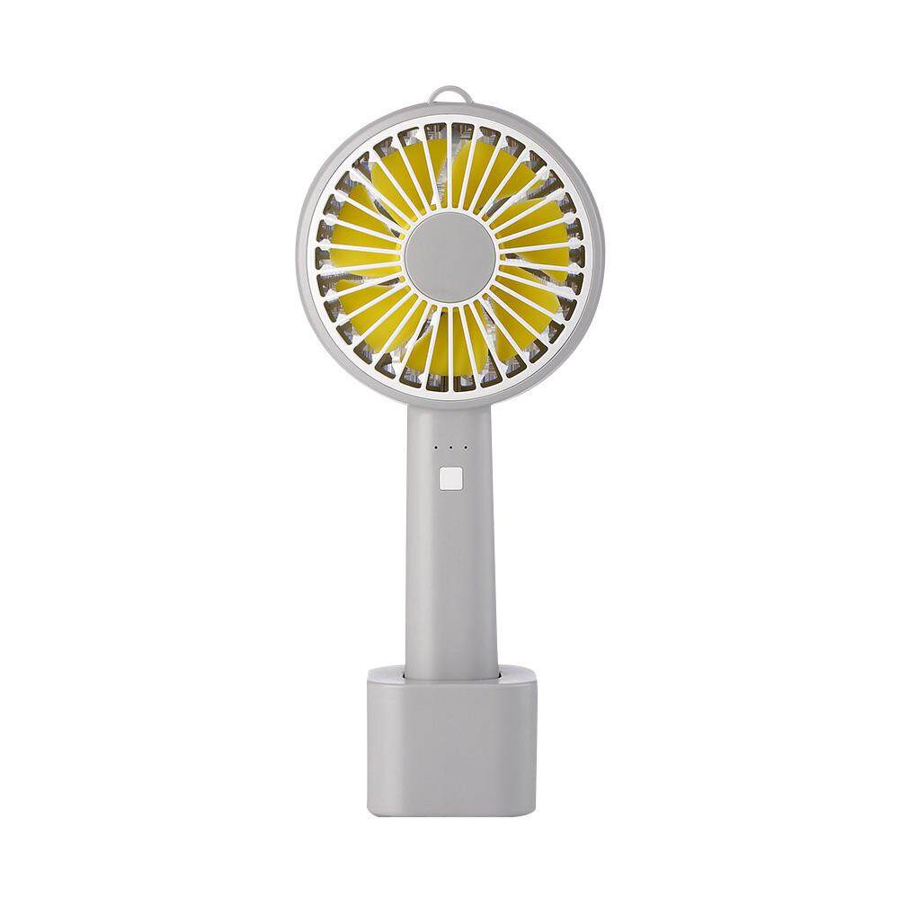 Auoker Mini Handheld Fan, Foldable Personal Portable Desk Cooling Fan With USB Operated For Office Room Outdoor Household Traveling - intl
