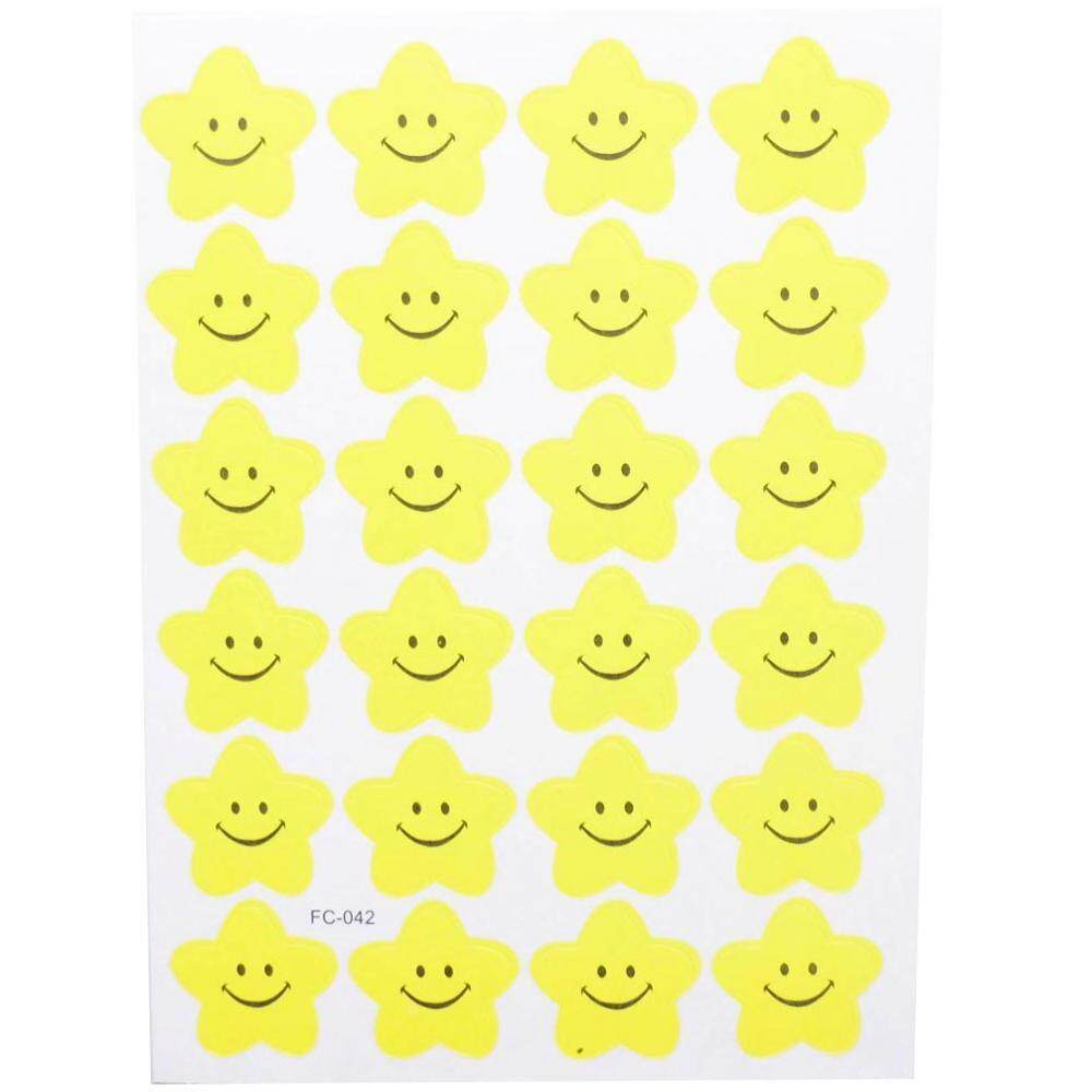 Bolehdeals 240 Emoji Smile Star Sticker School Kids Teacher Label Reward Craft Diy Toys By Bolehdeals.