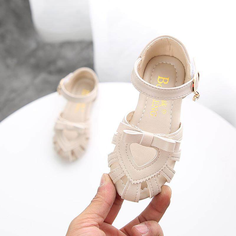 9115625c025 2019 Summer New Style Closed-toe Children s Shoes Princess Shoes Girl s  Sandals Children Soft Bottom