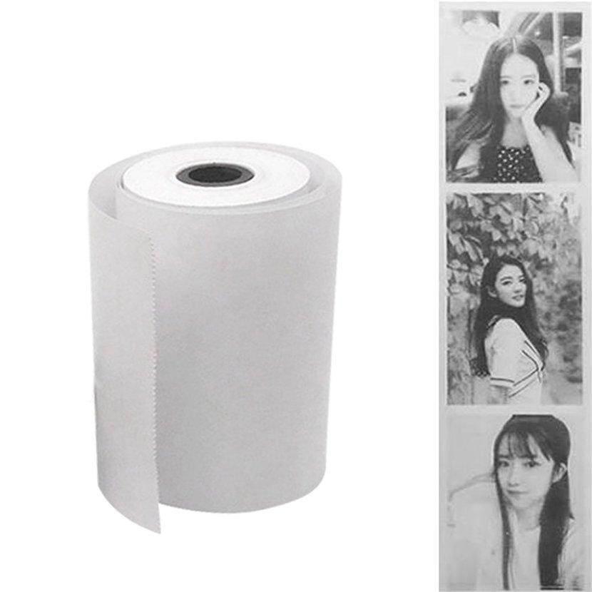 Mua Neve 1 Roll Coreless Heat-sensitive Paper Canvas Mobile Pos Machine Paper 57x30mm - intl