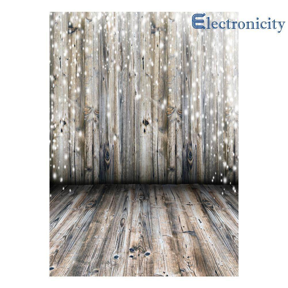 Wood Floor Photography Backdrop Cloth Baby Digital Photo Background Decor - intl
