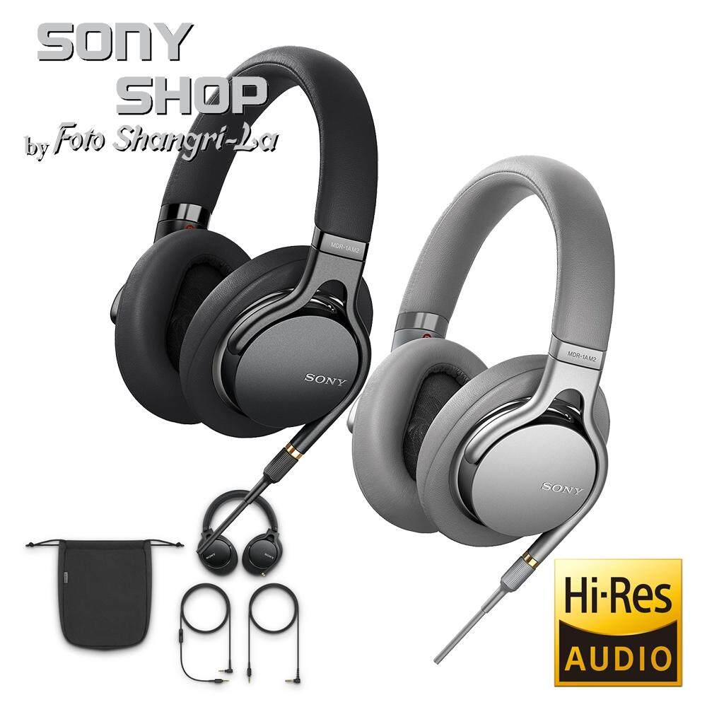 Fitur Sony Mdr 1abt Premium Hi Res Stereo Headphones Hitam Dan Harga High Resolution 100aap Red 1am2 With Heavyweight Bass And Beat Response Control