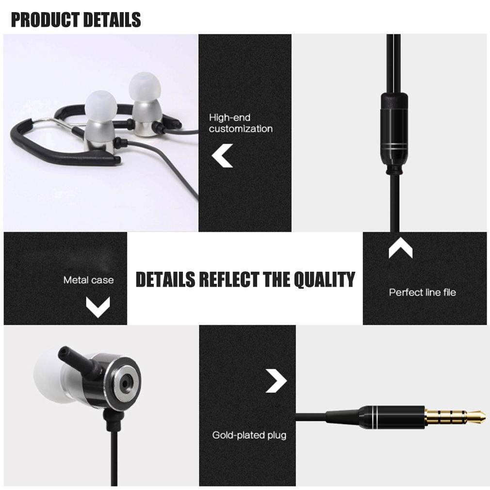 Hot Penjualan Universal Huast HST-45 Sport Menjalankan Earphone Stereo Bass MP3 Earphone Musik