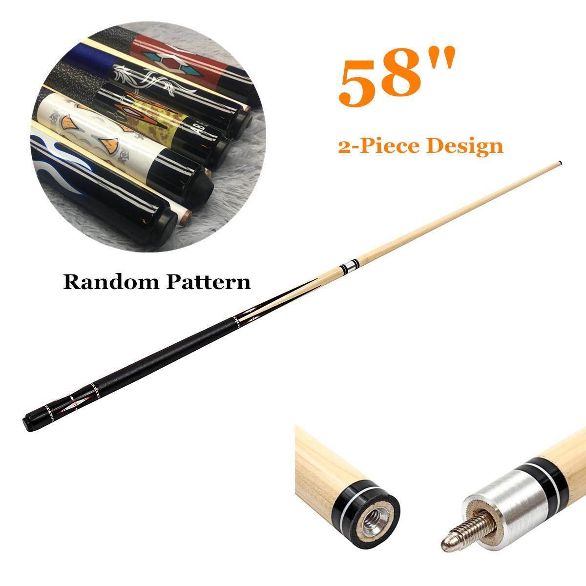 1*58 Pool Cue Billiard House Bar Pool Cue Sticks Random Color Free Shipping Us By Freebang.