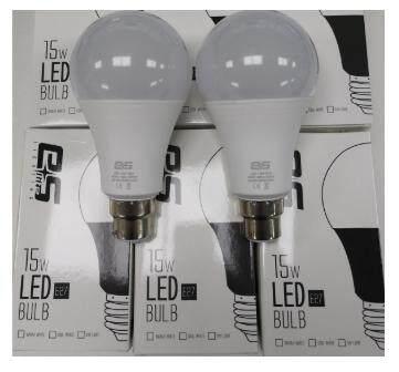 6 pcs ES lite led A70 bulb 15w B22 1400lumen 3000K Warm White