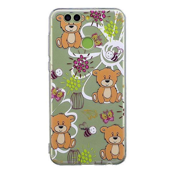 Phone Cover High Transparency Bee Butterfly Brown Bear Patterns TPU Painted  Soft Phone Case for HuaWei d73b1442f3