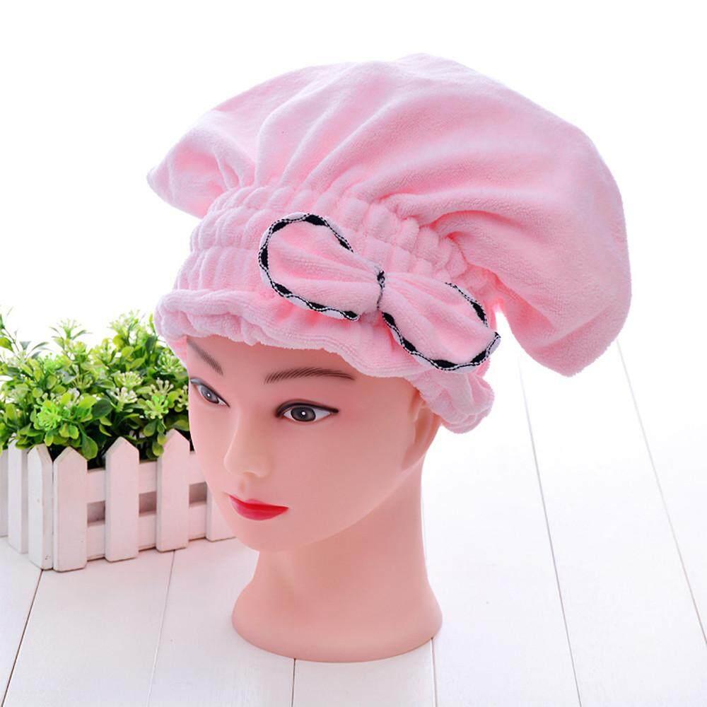... Handuk Pengering Rambut. Source · Textile Microfiber Hair Turban Quickly Dry Hair Hat Wrapped Bath Towel