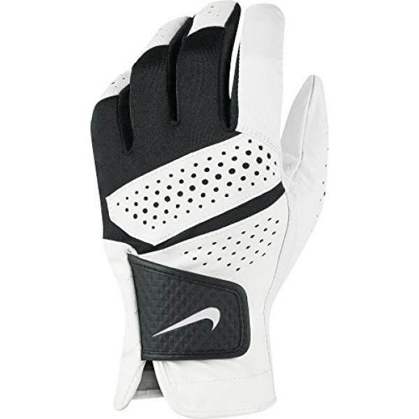 Baru Nike Tech Ekstrim VI Pria Cadet Kiri XL Putih/Hitam Golf Sarung Tangan-Internasional