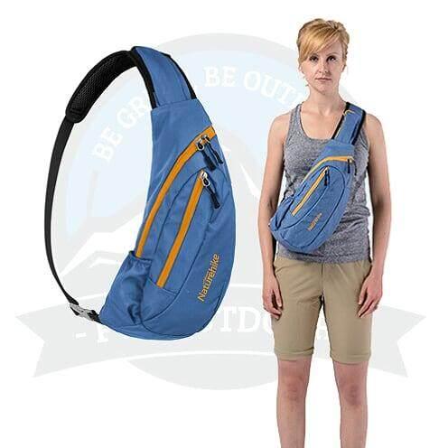 [ LOCAL DELIVERY ] NATUREHIKE Male Sling Bag Crossbody And Shoulder Bag Sling Bag-Blue