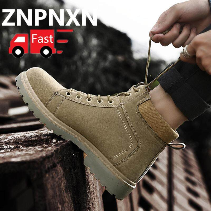 ZNPNXN Men s Boots Winter New Martin Boots Outdoor Snow Boots Men s Casual  Shoes Size 39- 506ae51386