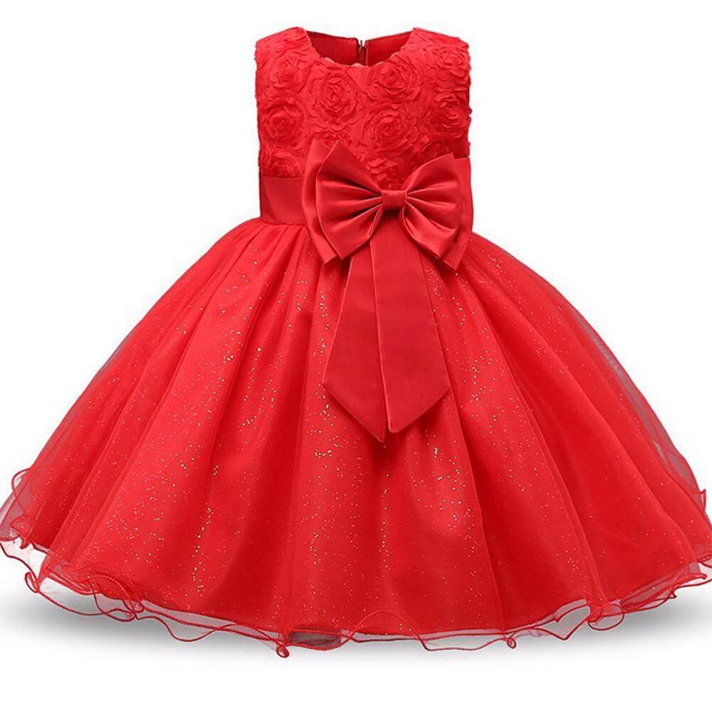 Giá bán Form Đầm Dự Tiệc Cho Bé Gái Tuổi Teen Quần Áo Muỗng Sinh Nhật Nơ Trang Phục Trang Phục Trẻ Tốt Nghiệp Công Chúa Váy Bầu