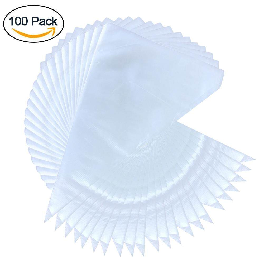 100pcs Safe Kitchen Accessories Large Thickened Durable Disposable Pastry Bags By Lolife.