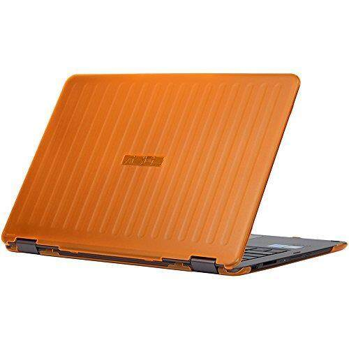iPearl mCover Hard Shell Case for 13.3-inch ASUS ZENBOOK Flip UX360CA series (NOT fitting all other ASUS ZenBook series like UX305 / UX330 / UX390, etc ) laptop (Orange) - intl