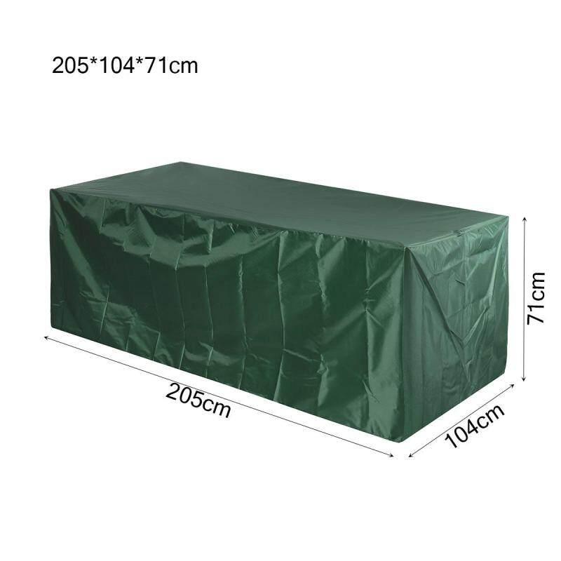 Chống thấm nước Sân Vườn Hiên Đồ Nội Thất Bộ Bao Da Bàn Ghế Sofa Băng Ghế Vuông Khối Lập Phương Ngoài Trời -- 205*104*71 cm