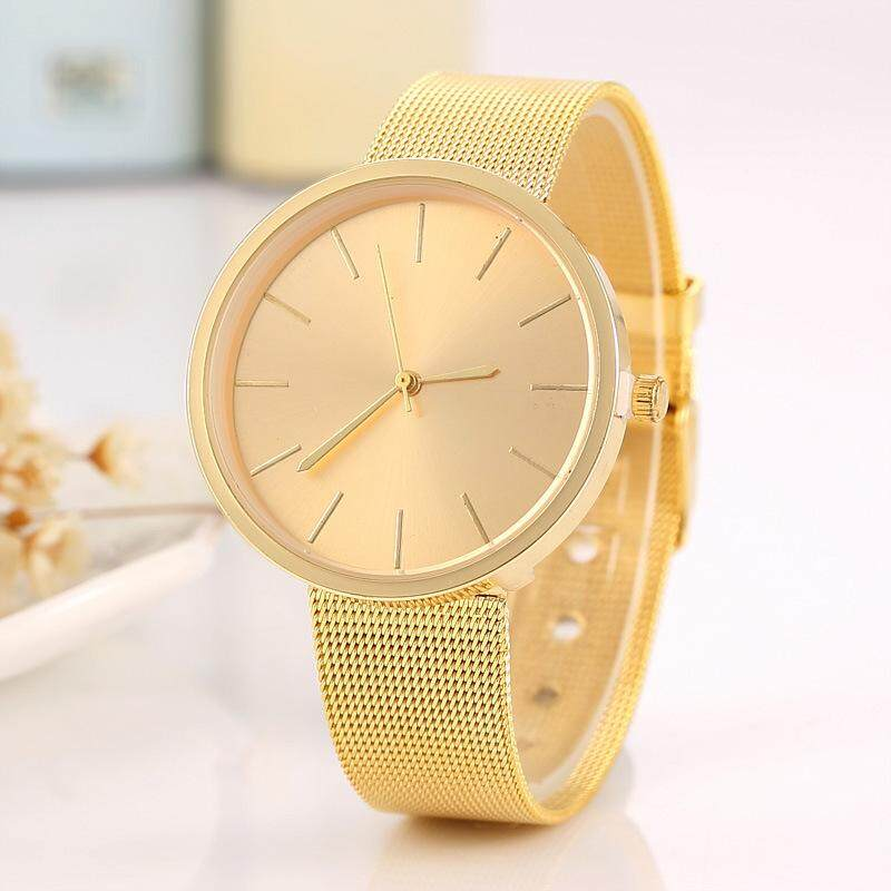 Fashion Geneva simple watch super thin screen Watches Women Quartz Wristwatch Clock Ladies Dress Gift Watches Malaysia