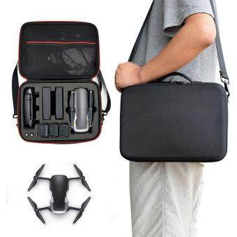 Pawaca Carrying Case for DJI Mavic Air, Aolvo Hardshell Waterproof Mavic Air Bag, Storage Bag with Shoulder Strap and 2 Side Handle Fits Drone ,3 Extra Batteries, Controller and Charger for DJI Mavic Air