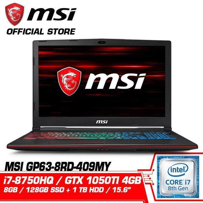 GP63 8RD 409MY LEOPARD (GTX1050TI 4GB GDDR5) Malaysia