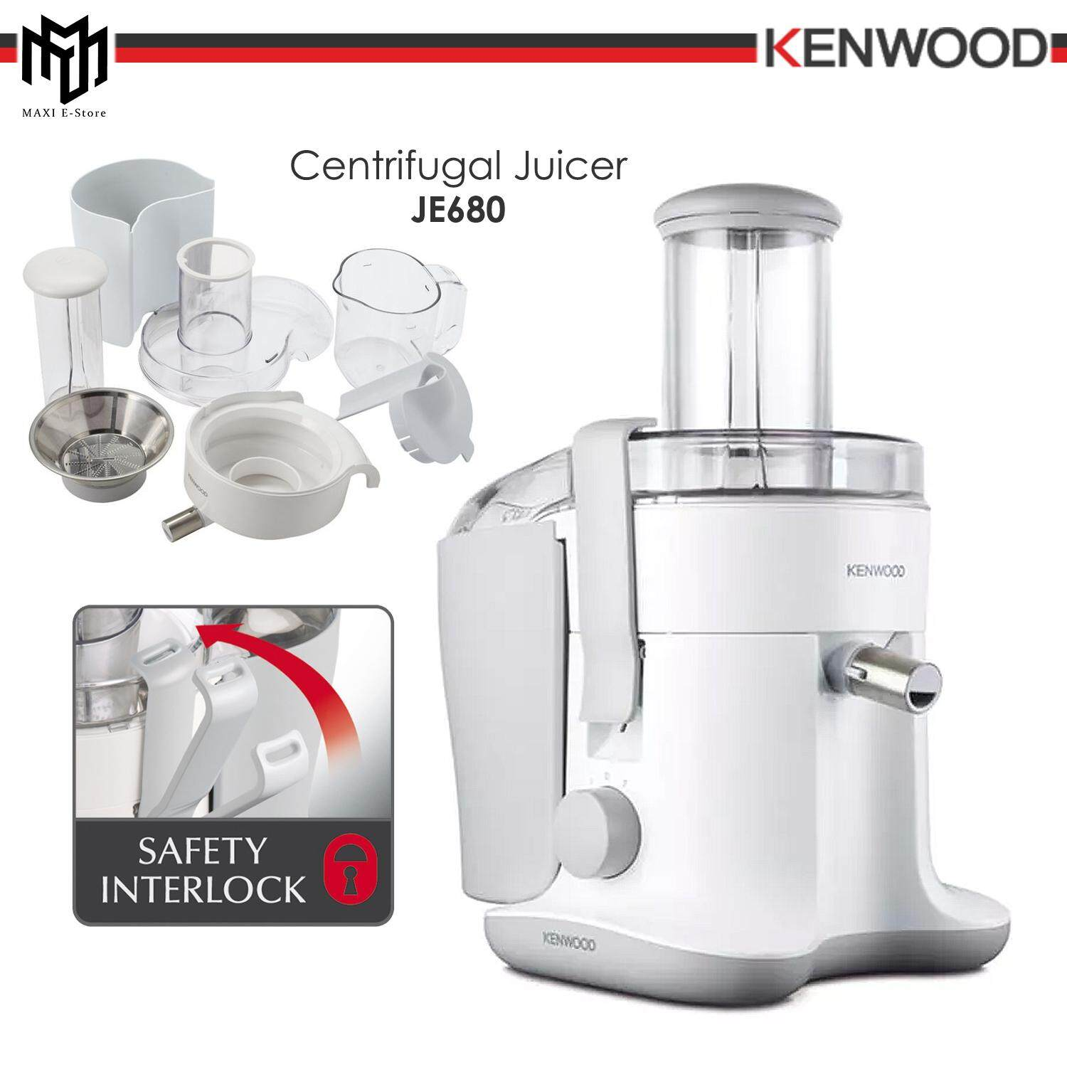 Kenwood Juice Extractor JE680 White