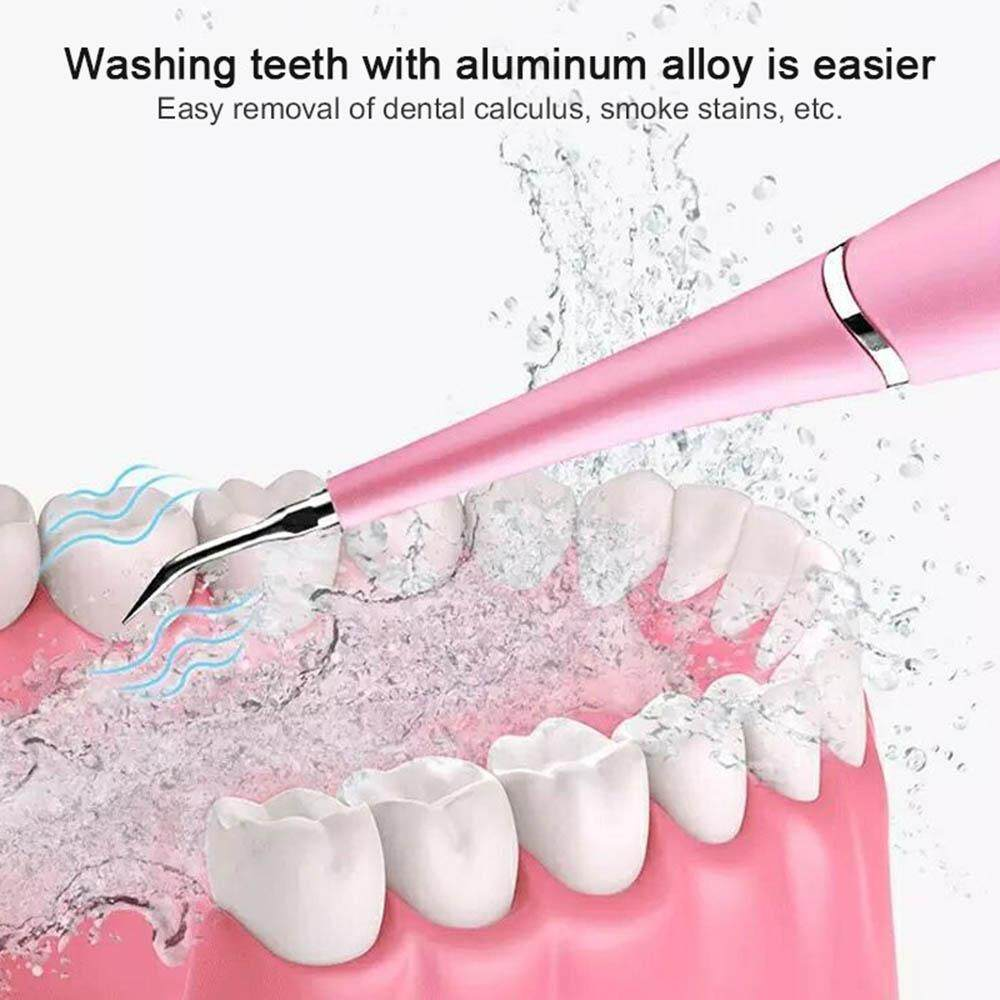 niceEshop Electric Dental Calculus Remover, Household Teeth Cleaning Tartar  Remover for Fighting Tartar Tooth Stains Teeth Polishing