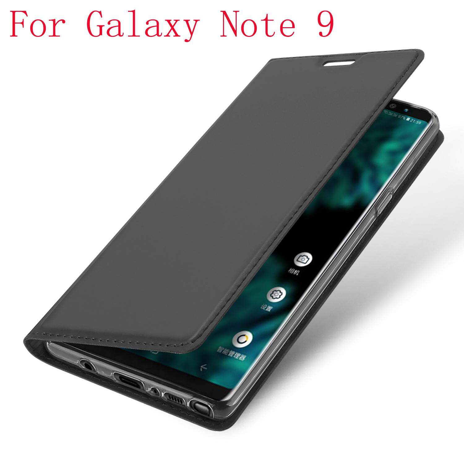 For Samsung Galaxy Note 9 Luxury Leather Flip Case