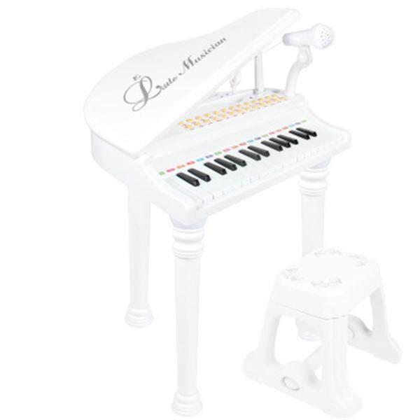 31 Phím Trẻ Em Trẻ Em Đàn Piano Điện Tử Micrô Nhạc Cụ
