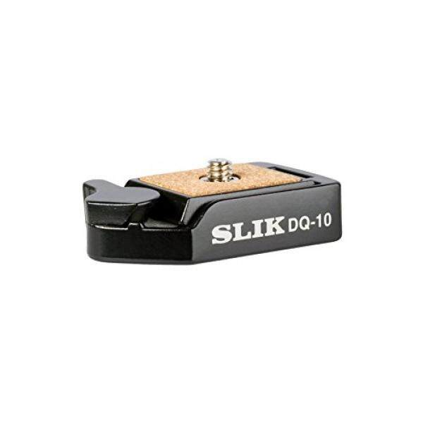 SLIK DQ-10 Mini Quick Release Adapter Set - Small, Black (618-743) - intl